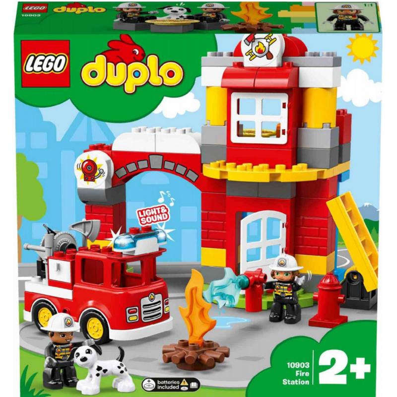 Lego Duplo 10903 Caserma dei Pompieri